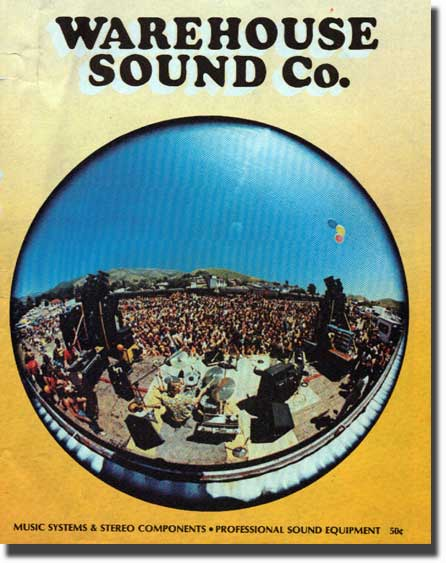 picture of 1975 Sound Warehouse catalog