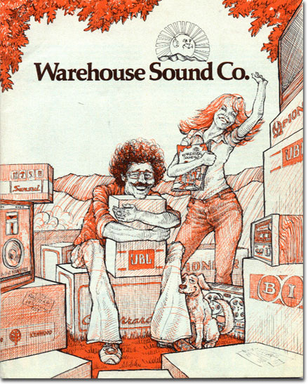 picture of 1981 Warehouse Sound catalog