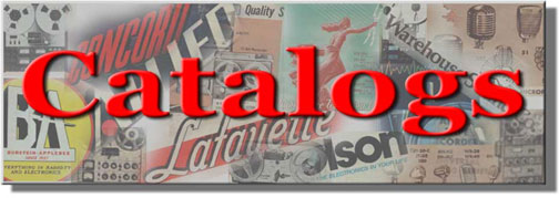 picture of a variety of catalog covers for mast of Catalog web page