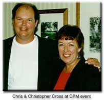 chris with Christopher Cross