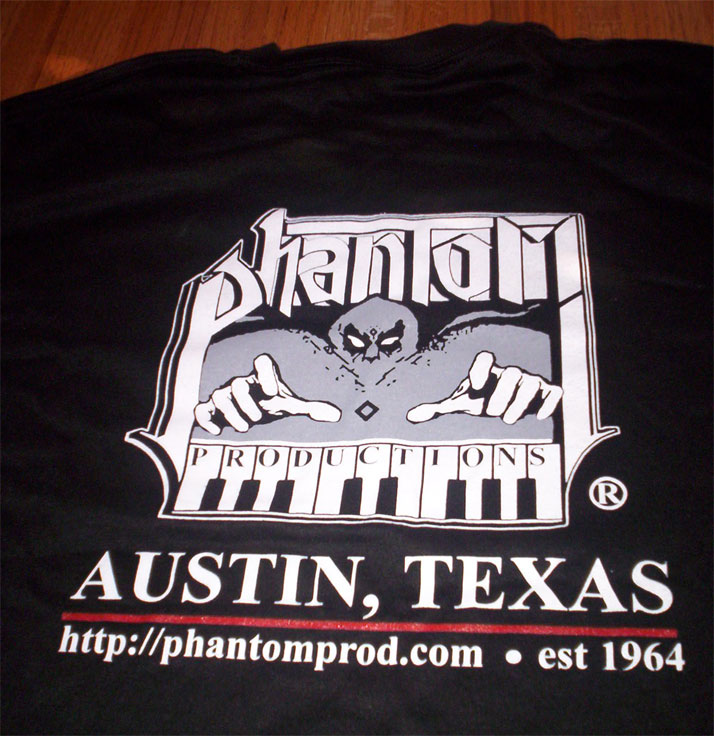 Phantom Productions T-Shirt