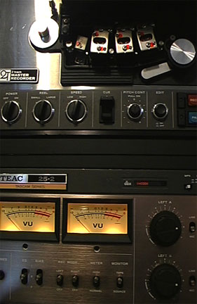 picture of Teac 25-2 mastering reel tape recorder