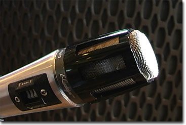 Shure 516EQ microphone in Reel2ReelTexas.com's vintage recording collection