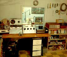 HSC Phantom's studio in 1965
