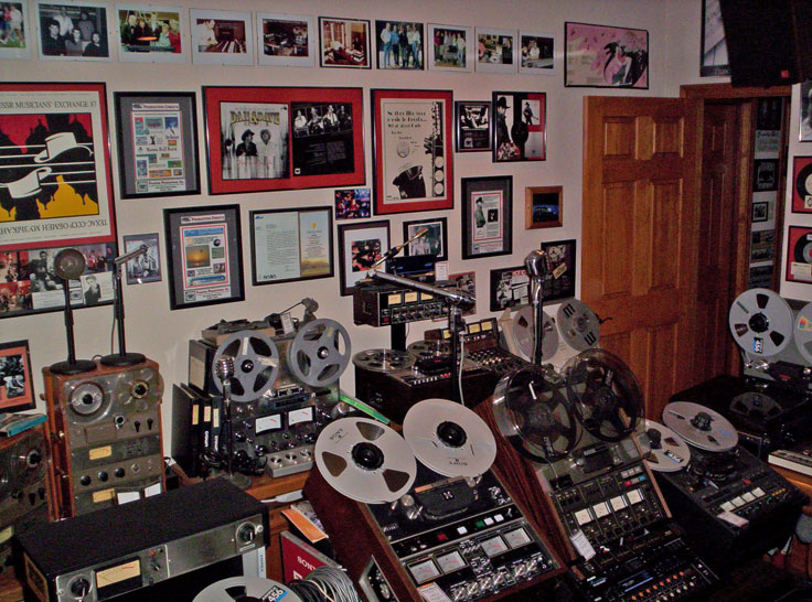 picture of Phantom's reel 2 reel hcollection in March 2006