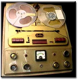 picture of Spectone tape recorder from UK