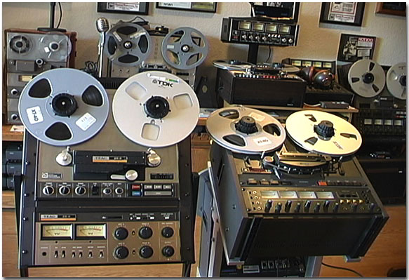 Otari MX5050 BQ II in the Reel2ReelTexas.com's vintage recording collection