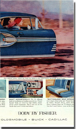 February 1958 Saturday Evening Post with general Motors ad using a magnecord PT6 tape recorder