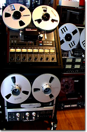 picture of Phantom Productions' ReVox B77 reel tape recorder