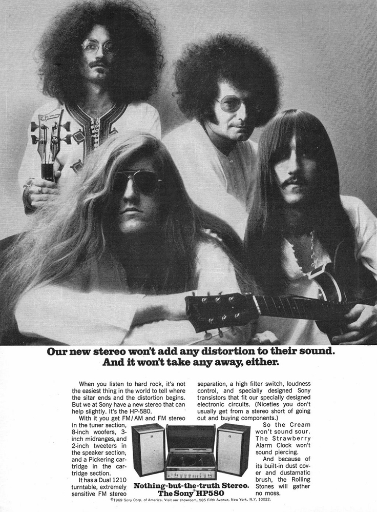 The Strawberry Alarm Clock Sony ad