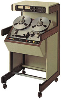 1977 picture of the IC Tapetronics reel to reel tape recorder in Reel2ReelTexas.com's vintage recording collection