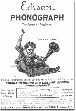 picture of 1901 Edison ad