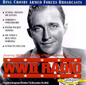 picture of 1943 Bing Crosby ad