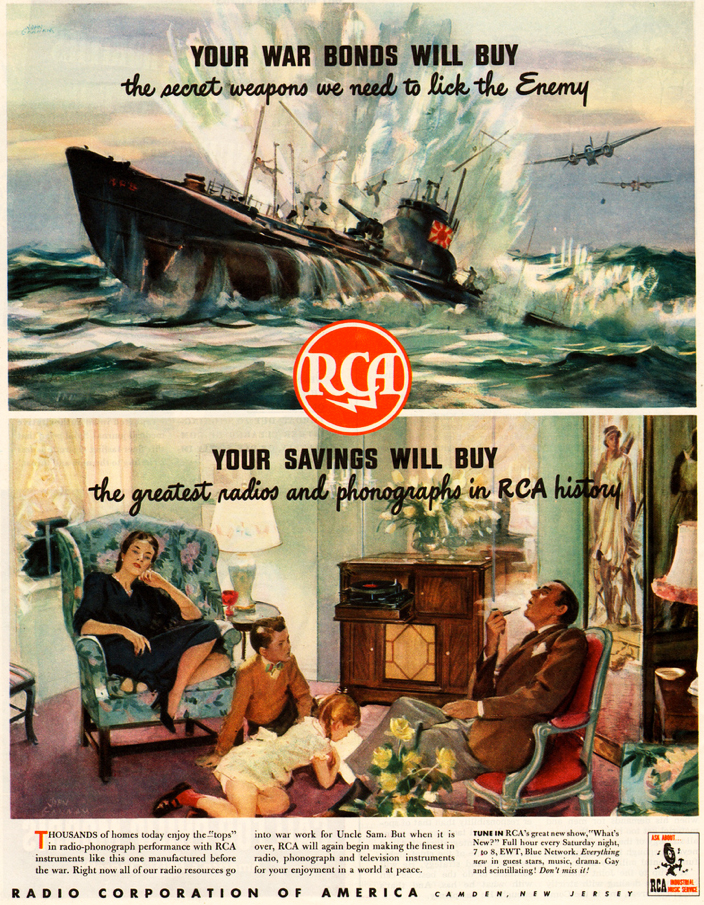 1944 ad for RCA