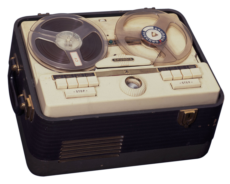 round philips record player