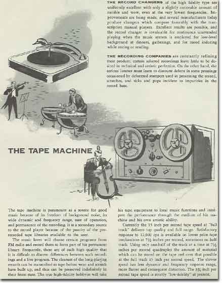 picture of 1953 Electro Voice audio components brochure