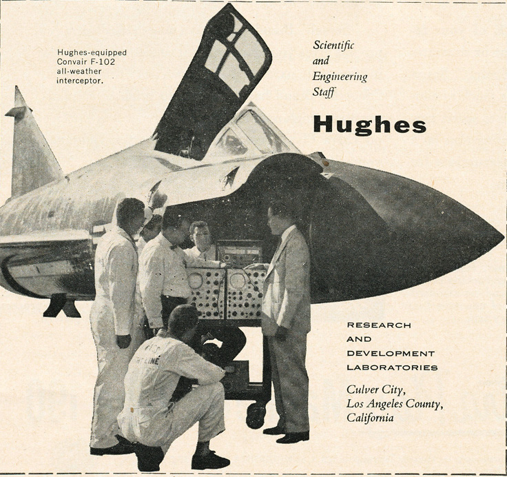1955 Hughes R&D ad in Reel2ReelTexas' vintage recording collection