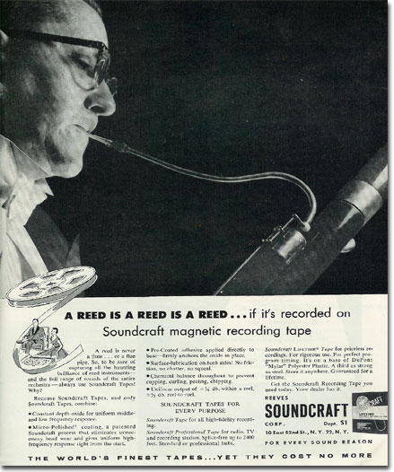 picture of 1955 Soundcraft ad