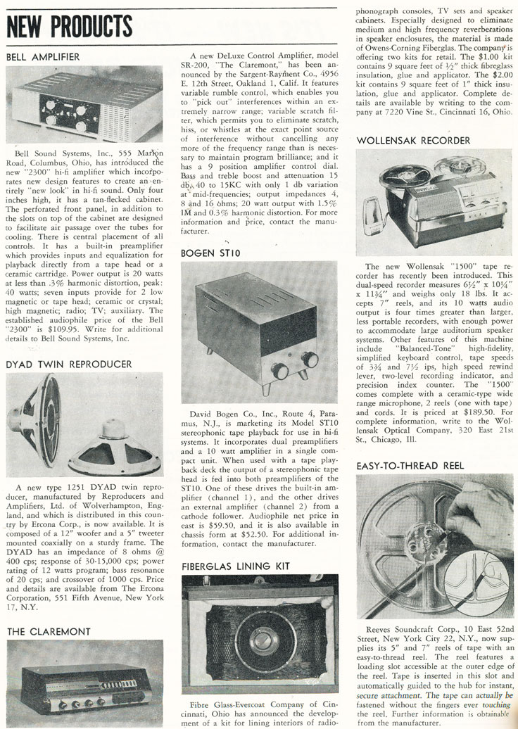1957 Audio Devices AudioTape ad for reel recording tape in Reel2ReelTexas' vintage recording collection