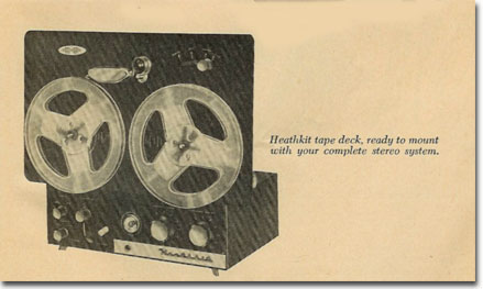 HeathKit tape recorder from 1958