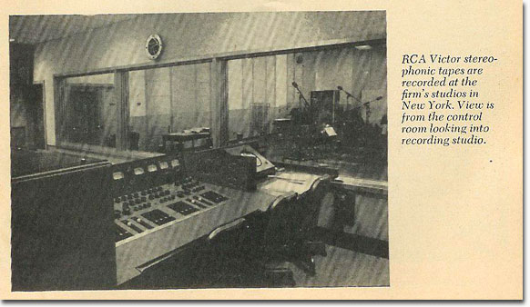 RCA recording studio from 1958