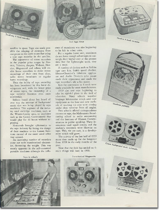 picture of the 1959 Tape Recording Roundup
