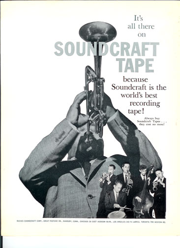 1959 Ad for Soundcraft Tape in Reel2ReelTexas.com vintage tape recorder collection