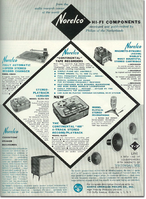 1960 ad for Norelco