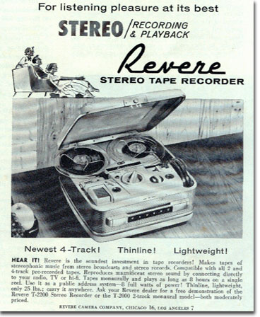picture of Revere ad in 1961