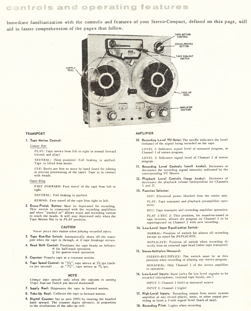 Viking 86 Manual in Phantom Productions' vintage tape recorder collection