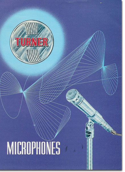 picture from 1964 Turner microphone catalog