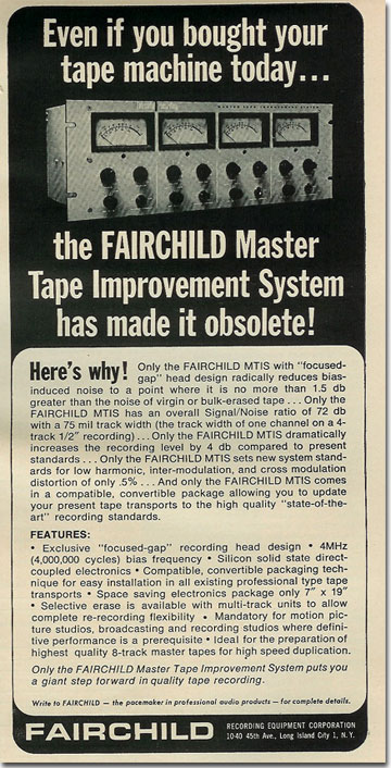 picture of 1966 Fairchild ad