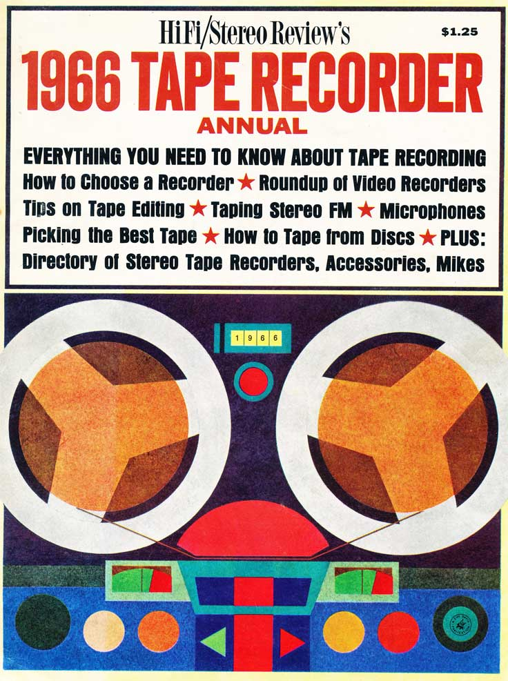 1966 cover of the HiFi Stereo Tape recorder issue in Reel2ReelTexas.com's vintage recording collection