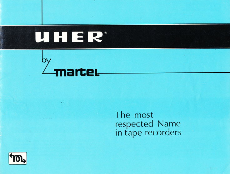 1966 Uher reel tape recorder brochure in Reel2ReelTexas.com's vintage recording collection