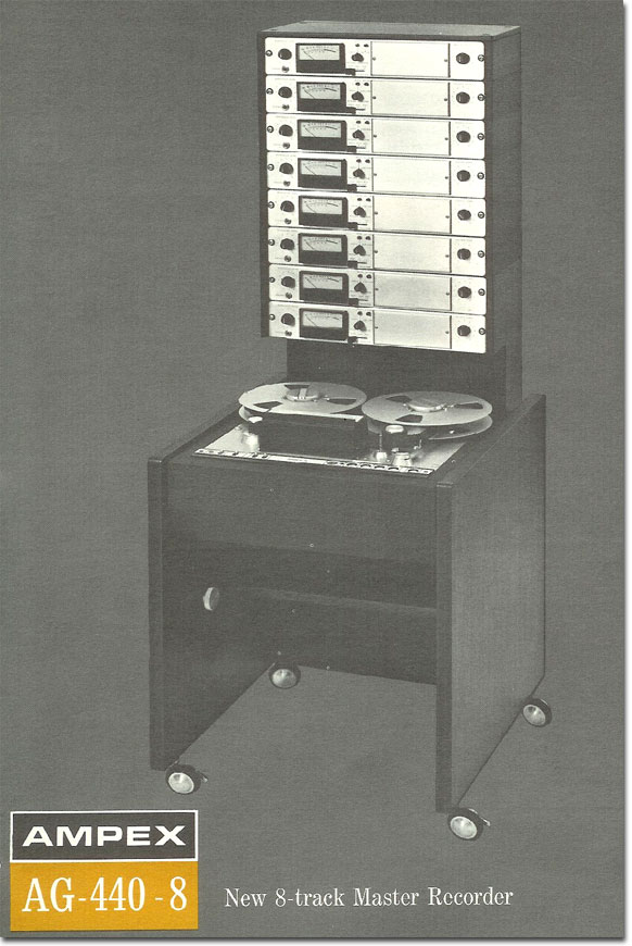1967 Ampex AG440 professional reel tape recorder