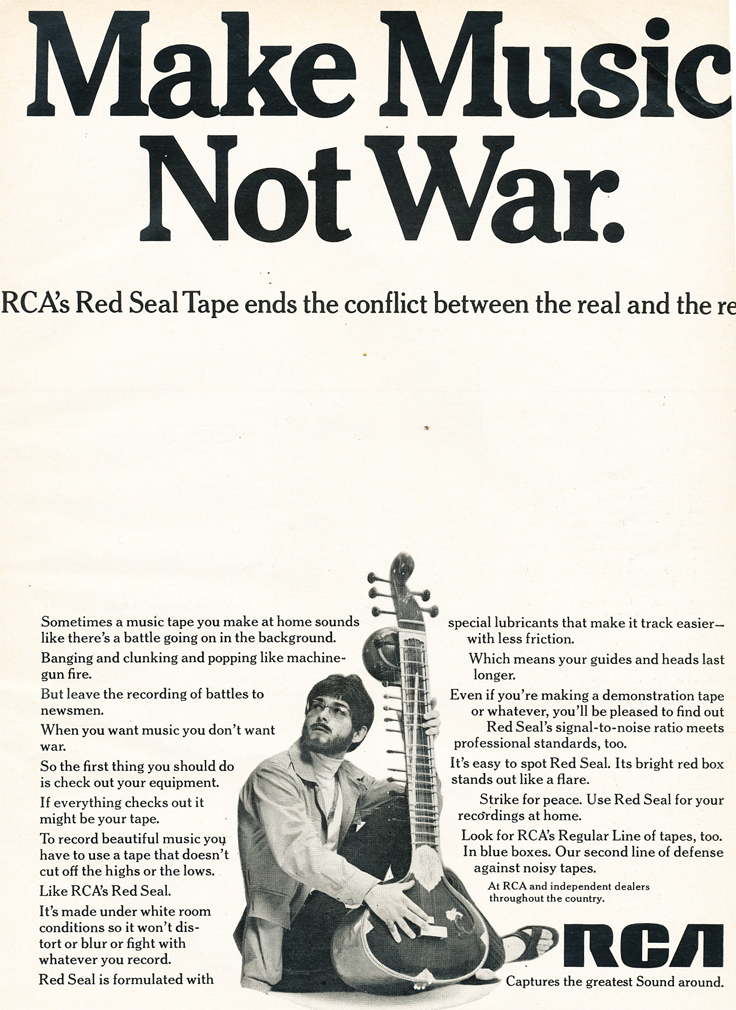 1969 ad for RCA Red Seal reel recording tape in Reel2ReelTexas.com's vintage recording collection
