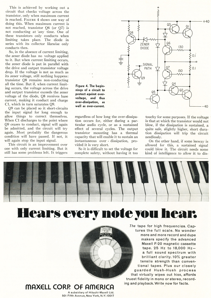 1970 ad for Maxell reel to reel recording tape in Reel2ReelTexas.com's vintage recording collection