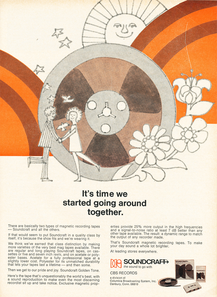 1970 ad for Soundcraft reel to reel tap in   Reel2ReelTexas.com's vintage recording collection