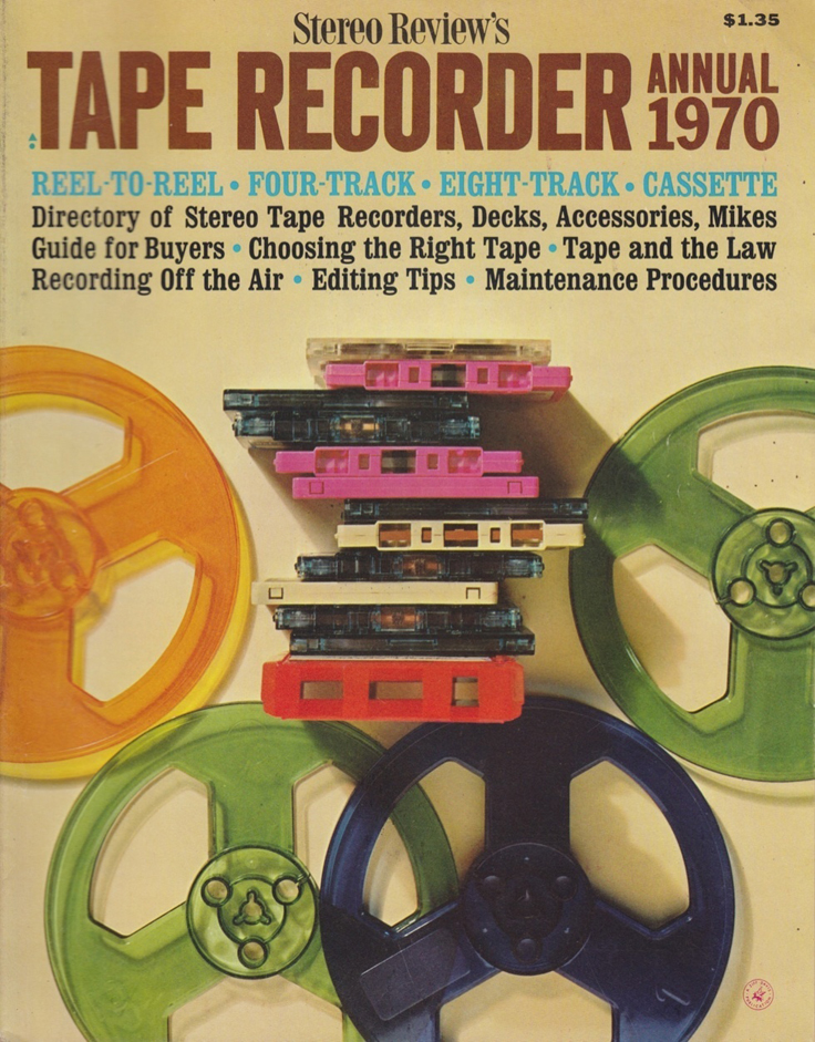 1970 cover of the Stereo Review Tape Issue in the Reel2ReelTexas.com's vintage recording collection