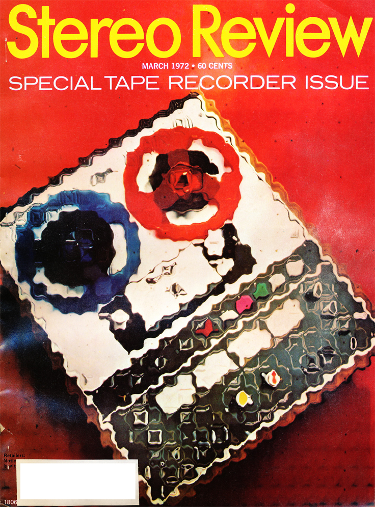 March 1972 Stereo Review Special Tape Recorder Issue cover in   Reel2ReelTexas.com's vintage recording collection