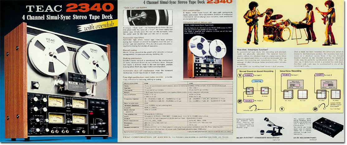 picture of Teac 2340 brochure