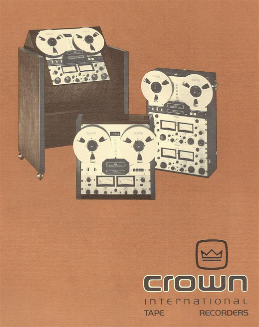 Phantom's Crown reel tape recorder brochure