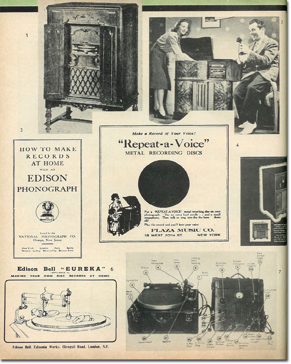 picture of Page 1 of the History of Home Recording