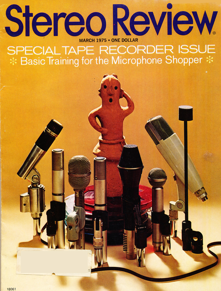 Cover of the 1975 Stereo Review Tape recorder issue in Reel2ReelTexas.com's vintage recording collection