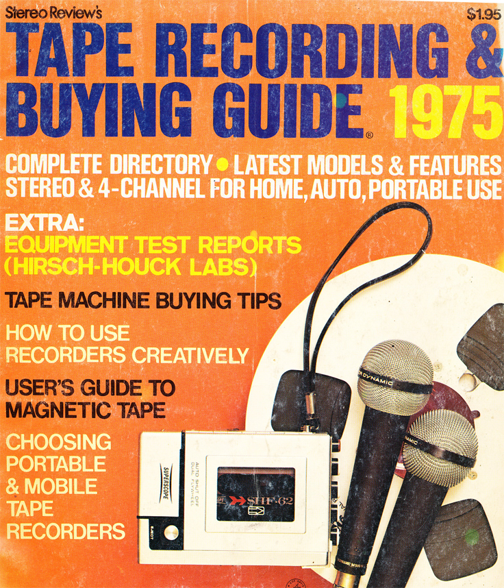 1975 Stereo Review Tape Recorder Issue cover