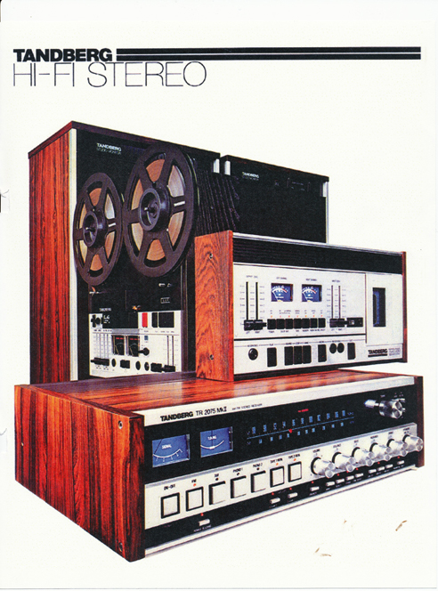 1977 Tandberg tape recorder ad in Reel2ReelTexas' vintage tape recorder collection
