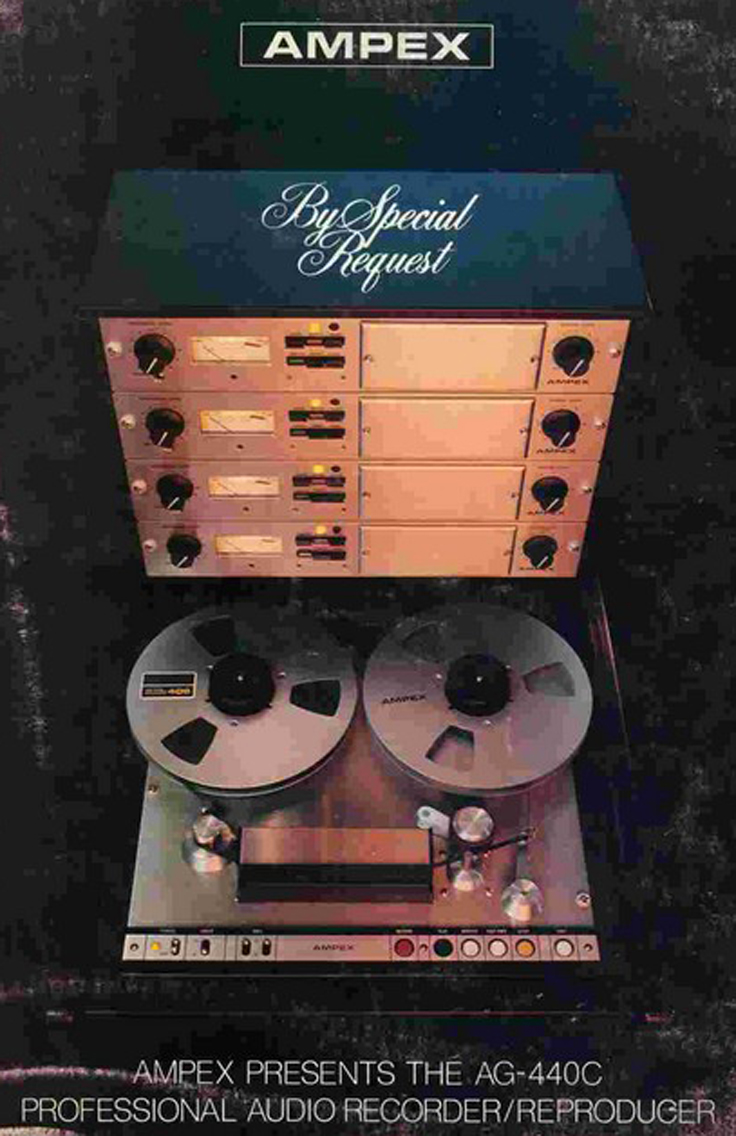 1977 brochure for the Ampex AG-440C in Reel2ReelTexas.com's vintage recording collection
