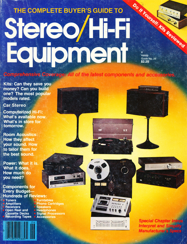 1978 cover of the Stereo HiFi Equipment Annual inPhantom Productions vintage recording collection