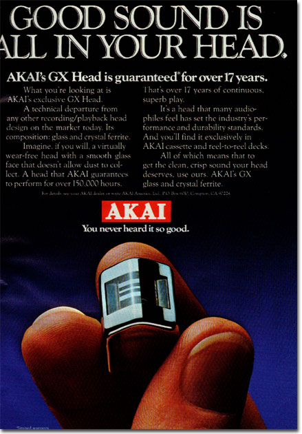 picture of 1979 Akai ad