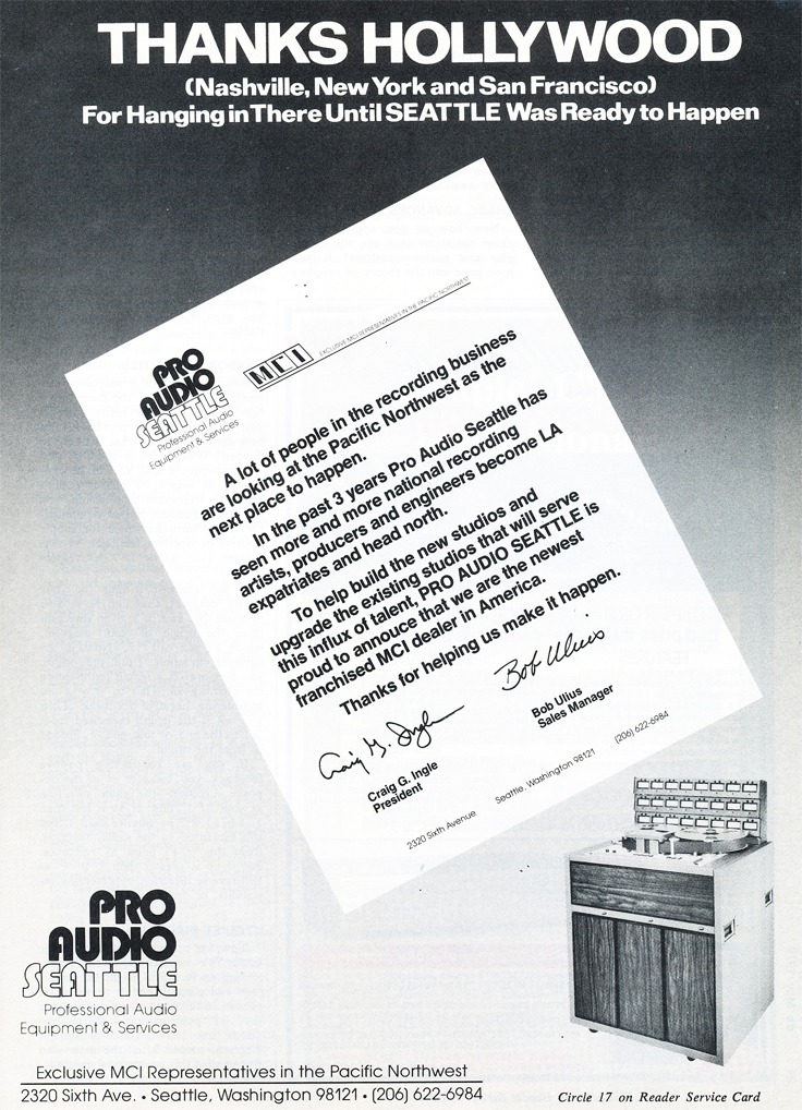 1979 ad for MCI  in Reel2ReelTexas.com's vintage recording collection